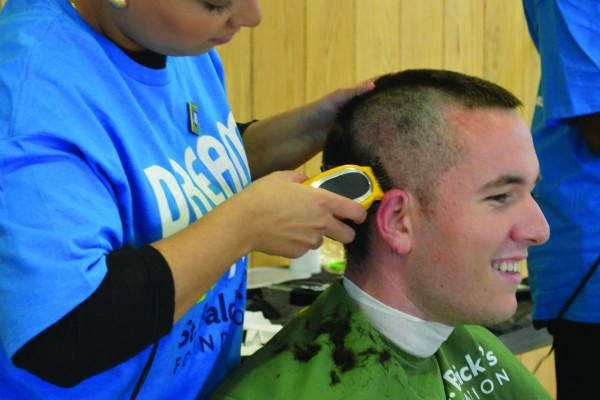 st. baldrick's day front page