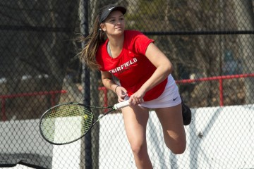 Sophomore Gabby Campos looks to continue on with the strong start that she brought last year. Photo Contributed by Sports Information Desk