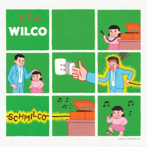 "The cover art for Wilco's latest album, ""Schmilco"""