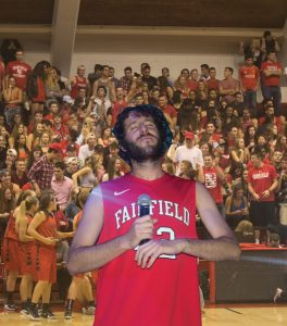 Lil Dicky pumped up the Red Sea Madness crowd with his performance. Photocompilation by Colleen O'Connor/The Mirror, pictures by Alfredo Torres/The Mirror
