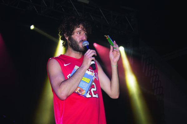 Lil Dicky performs at the FUSA Fall Concert following Red Sea Madness. Alfredo Torres/The Mirror